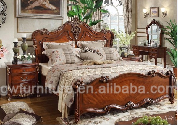 Antique Hand Carved Wood Bed Buy Antique Hand Carved