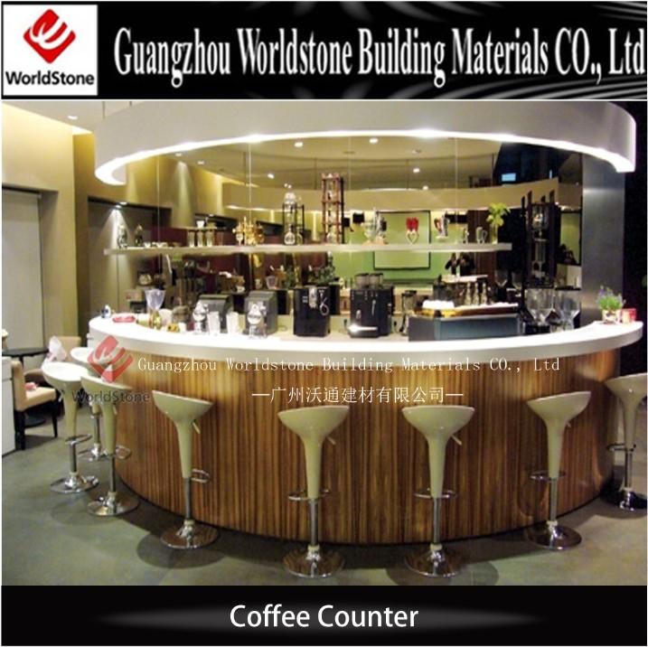 Cheap Cafe Bar Counter Design Marble Buy