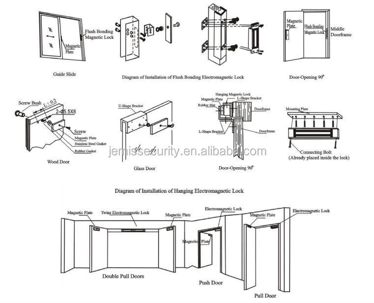 New Factory 12V 24V Electromagnetic Lock Sliding Door(JM-280AF)  sc 1 st  Alibaba & New Factory 12v 24v Electromagnetic Lock Sliding Door(jm-280af ...