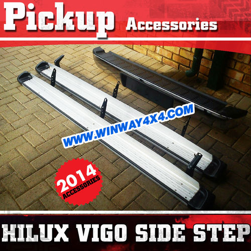 4x4 Accessories Off Road Rock Slider Side Step Bar For