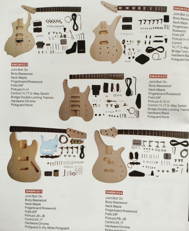 24 frets diy electric bass guitar kits electronic guitar kit guitar kit buy electric guitars. Black Bedroom Furniture Sets. Home Design Ideas