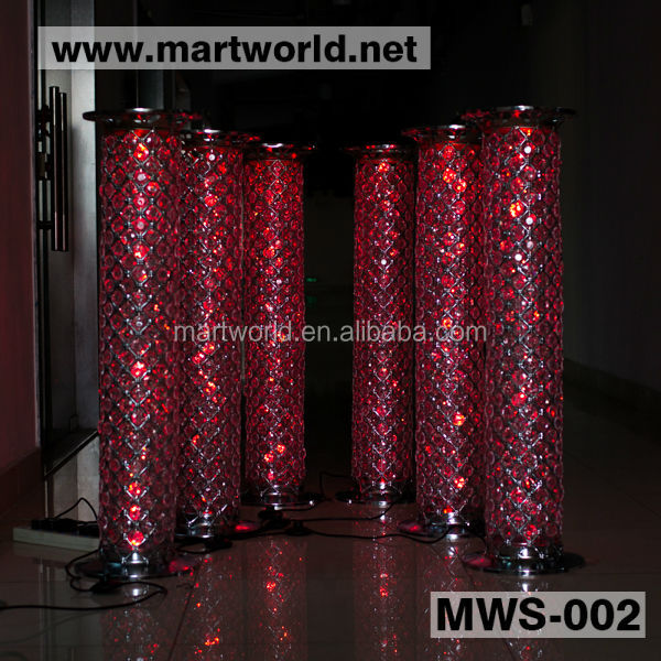 2016 1m Wedding Pillars Columns For Sale/crystal Pillar
