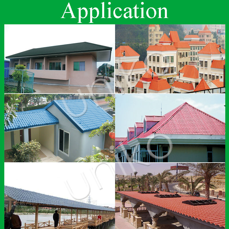 Architecture Design Houses/pvc Resin Tile Types Of Roofs For ...