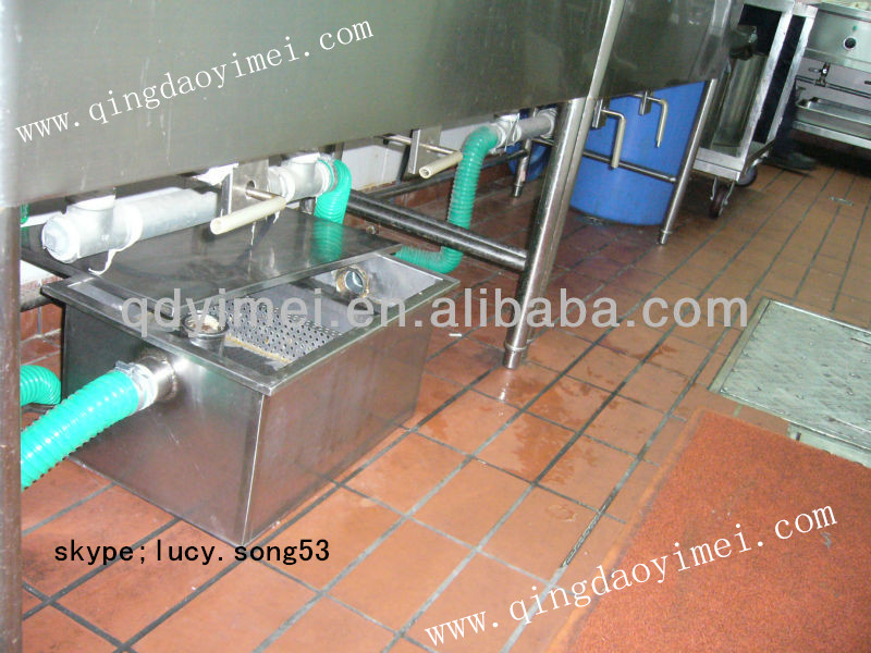 ordinary Grease Trap For Commercial Kitchen #5: Stainless Steel Grease Trap for Commercial Kitchen
