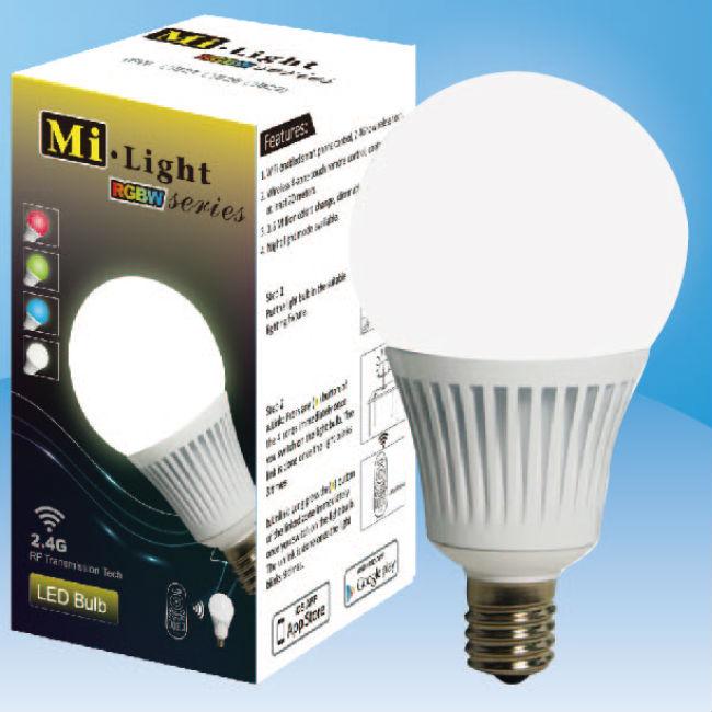 Mi Light Rgb Color Changing Wifi Led Light Bulb E14 Lamp Socket ...