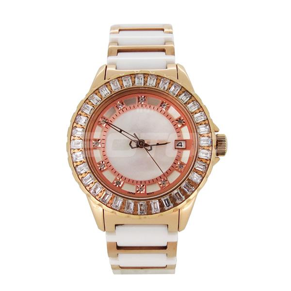 High End Quality Fashion Bling Women Omax Quartz Watch Stainless ...