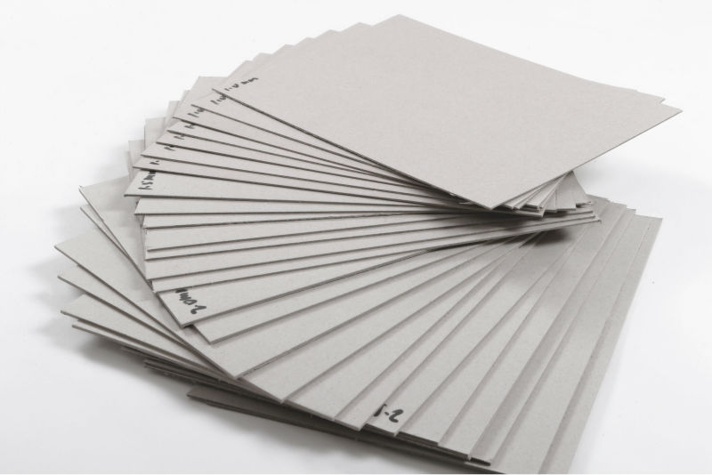 Wholesale Uncoated Duplex Paper Board Gray Back