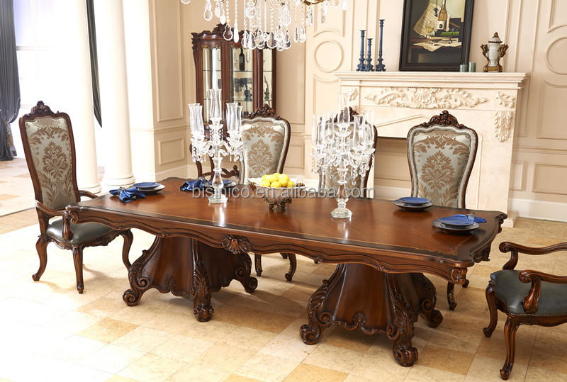 Castle Style Dining Room Furniture Set Table Chairs Buffet Sidebord