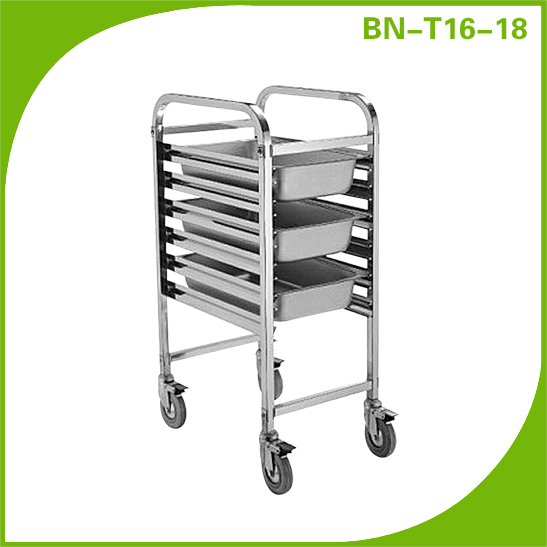 Popular Style Single Row 7 Layers Assemble Baking Trolley