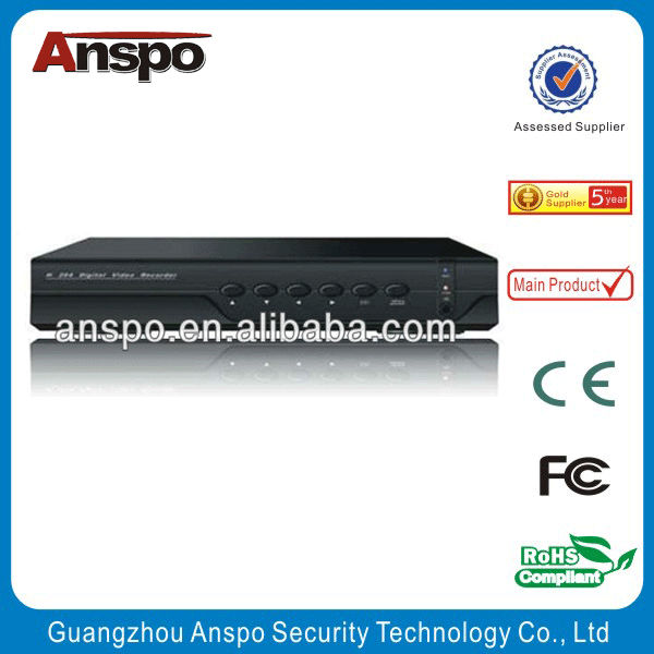 Guangzhou Anspo Top quality P2P iCloud and Onvif 4CH Network DVR