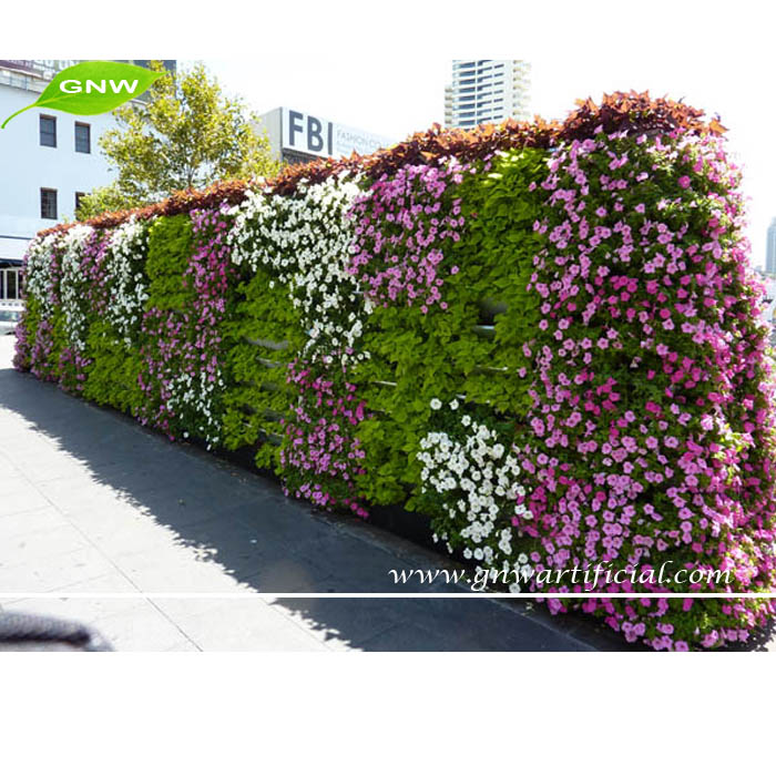 Gnw Glw018 Whole Gres Plants Artificial Flower For Wall Decoration Indoor And Outdoor Use