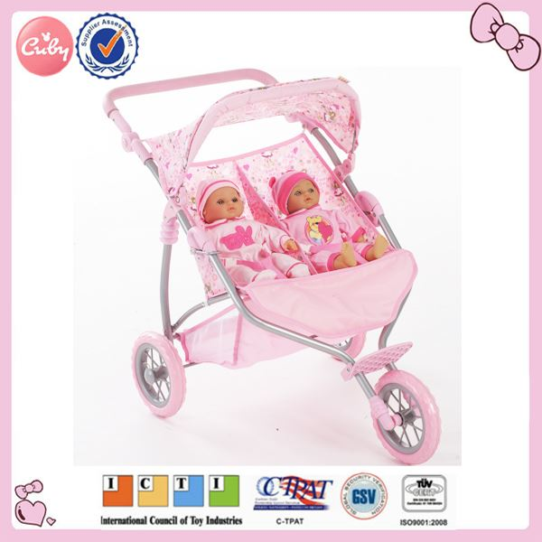 2014 baby twin doll strollers for twins