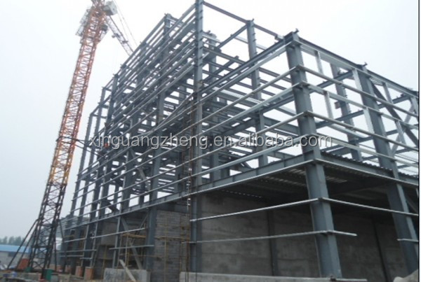 light steel frame plant warehouse project design