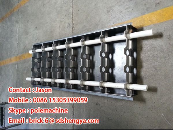 Make Lightweight Concrete : Light weight foam concrete block making mould manual form