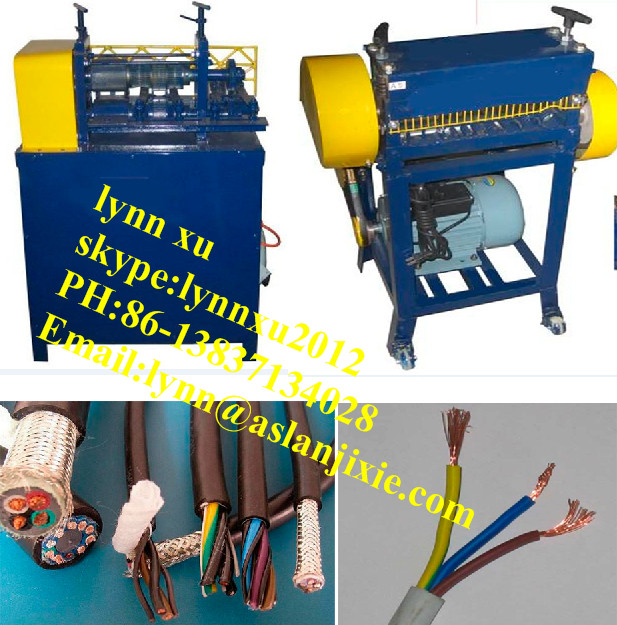 Copper Cable Wire Stripper/scrap Cable Wire Stripping Machine - Buy ...