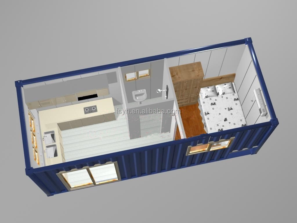 20ft Flat Pack Office Container House Office Container - Buy Container ...