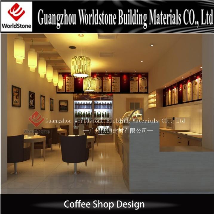 Beauty Bar Counter Coffee Shop Interiors Design Cafe Bar