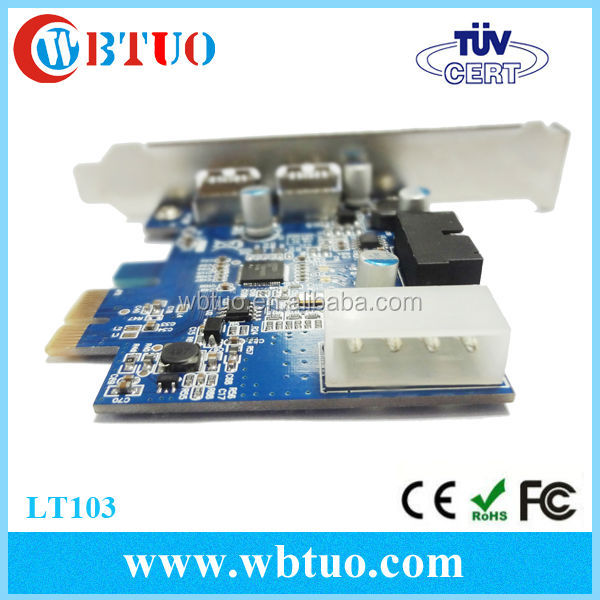 Hot Sale Pci-express Card Pci-e To Usb 3.0 Converter Card