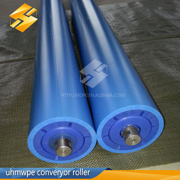 Hot Sale Plastic Hdpe Pipe Rollers Uhmwpe Belt Conveyor Idler Roller For  Coal Mining - Buy Plastic Hdpe Pipe Rollers,Uhmwpe Belt Conveyor Idler