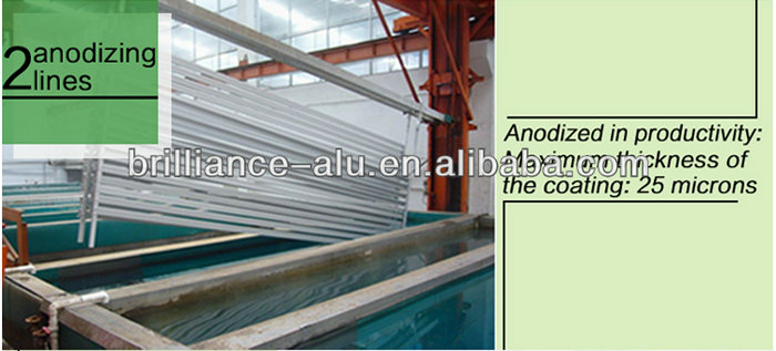 Modern Design Aluminium Extrusion Rail for Balcony Railing