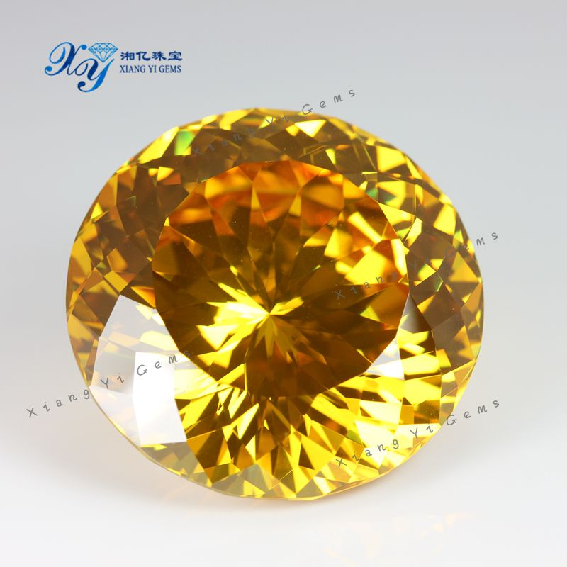 Big Stone Ring Design High Quality 10mm Wholesale Cubic Zirconia ...