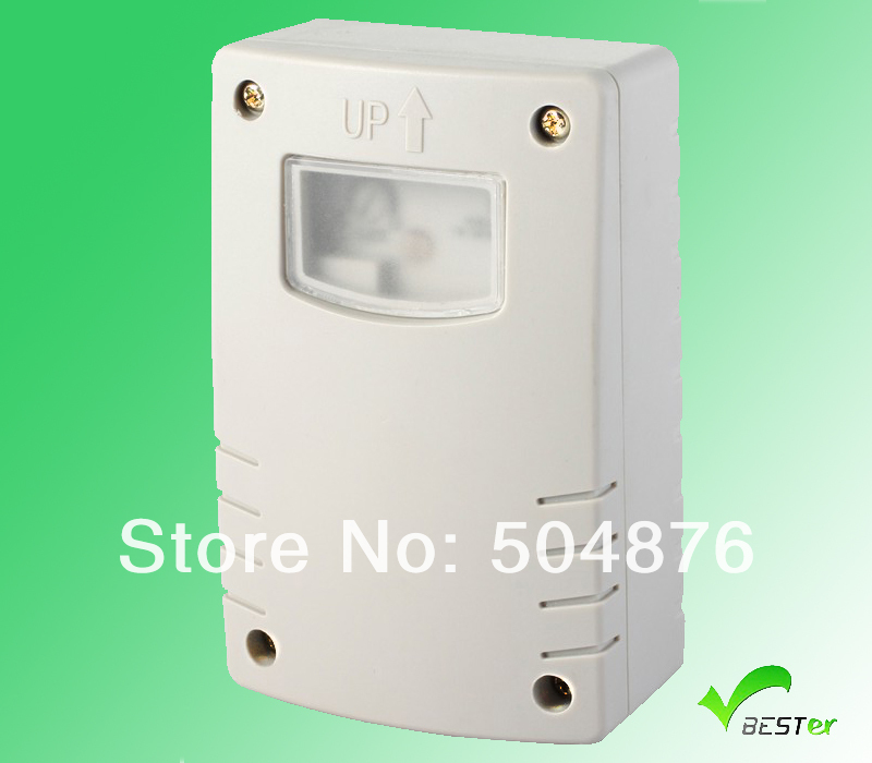 Auto Outdoor Ip44 Photocell Light Sensor Switch With Timer Buy Light Sensor Switch Light