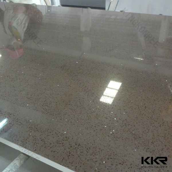 Glitter Kitchen Floor Tiles: White Sparkle Quartz Floor Tile,Starlight Quartz Tiles