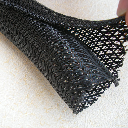 Pet Self Wrapping Split Braided Cable Sleeving For Single Or ...
