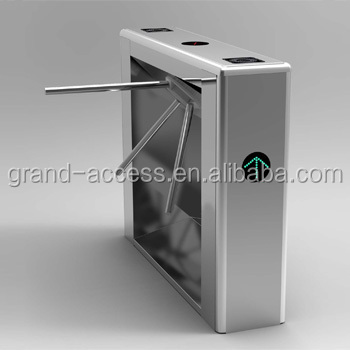 CE Approved Full Automatic waist high Turnstile Tripod Turnstile Gate with Factory Price