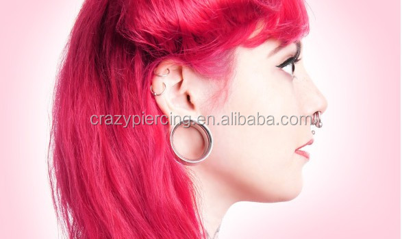 Checkered Areng Crocodile Body Piercing Jewerly Wood Ear Tunnel ...