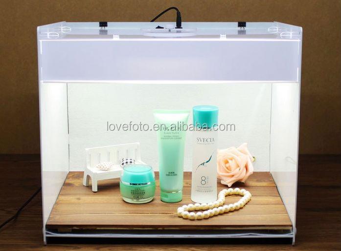 White Color 5600k Acrylic Photo Studio Photo Box Lighting Tent Box