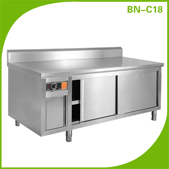 Bn C18 Stainless Steel Restaurant Electric Plate Warmer
