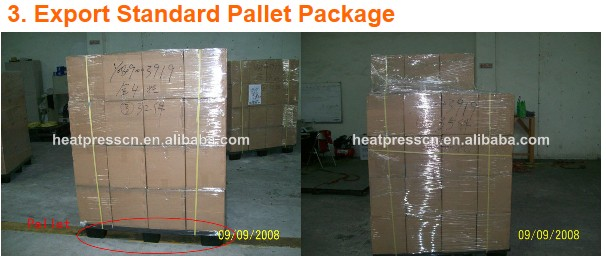 double working tables automatic penumatic heat press machine