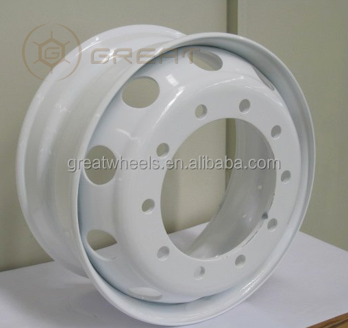 China Steel Wheel Rim 22.5 For Dump Truck