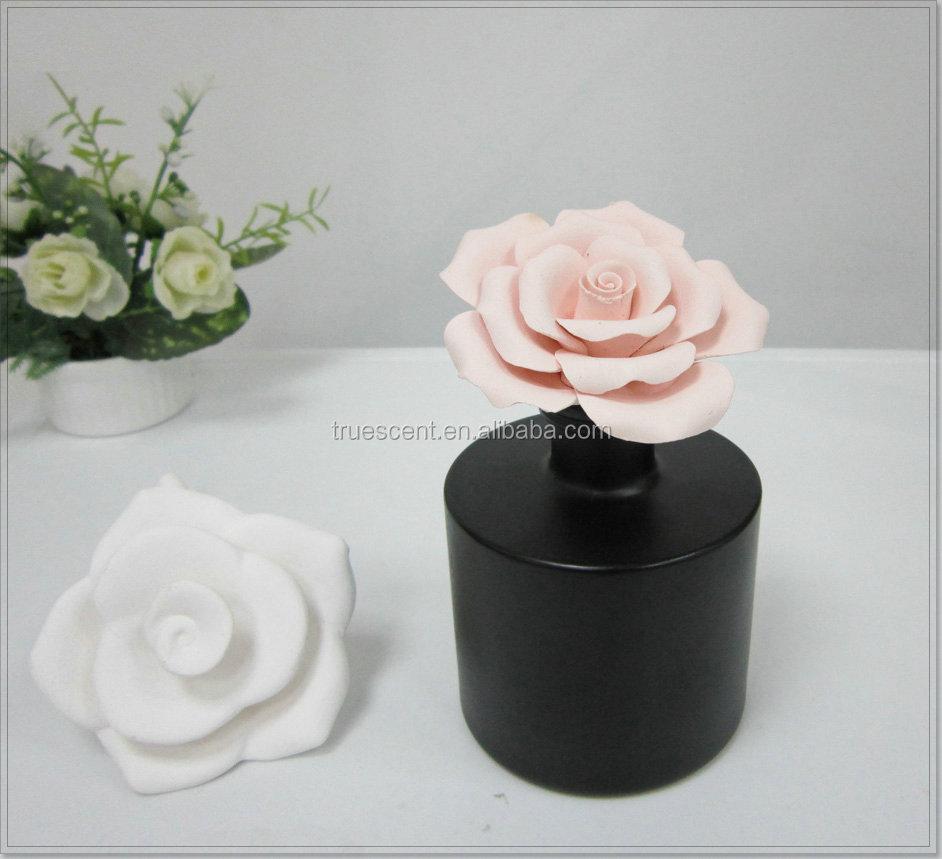 200ml Fragrance Oil Bottle With Customized Ceramic Plaster