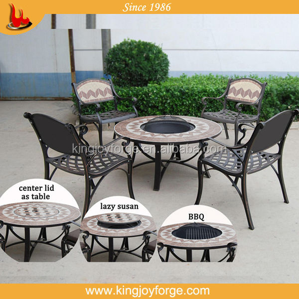 Ceramic Tiles Mosaic Table Garden Set/mosaic Tile Table