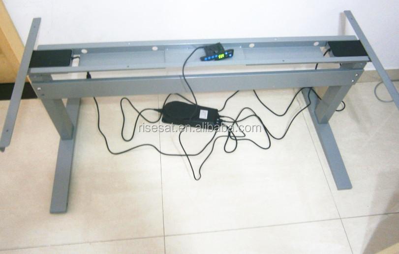 En métal réglable en hauteur ergonomique pc bureau bureau réglable