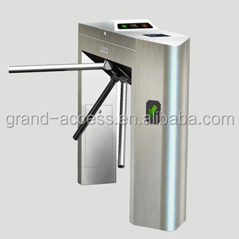 CE Approved Waterproof and Dustproof Waist High Turnstile Tripod turnstile Gate can Customized Make