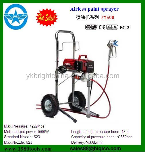 1.8hp,2.5hp 3.5hp China Manufacture 007a Airless Paint Sprayer ...