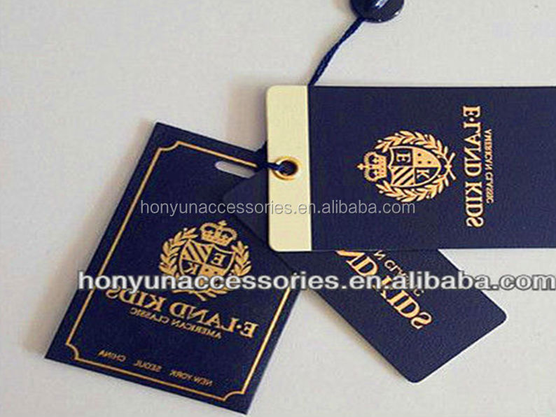 High Quality Paper Hang Tag For Garments - Buy Paper Hang Tag,Hang ...