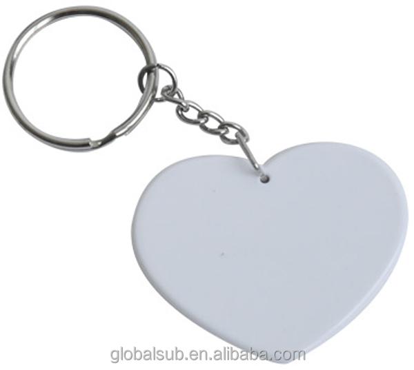 Promotion Key Chain,Sublimation Heart Shape Polymer Keychain,Key ...