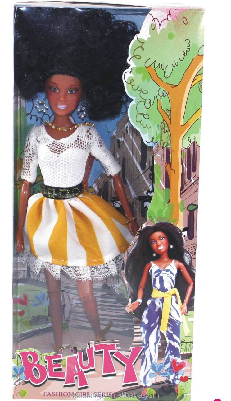 12.5 inch Jointed Black fashion girl dolls