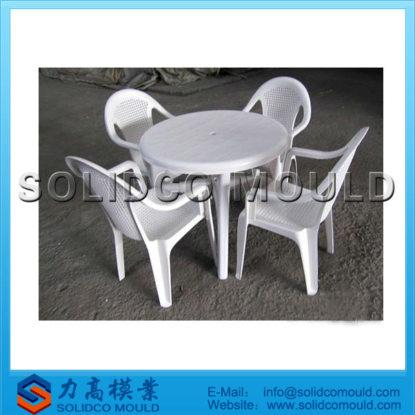 Salon De Jardin En Plastique Table Et Chaises Moules - Buy Table En ...