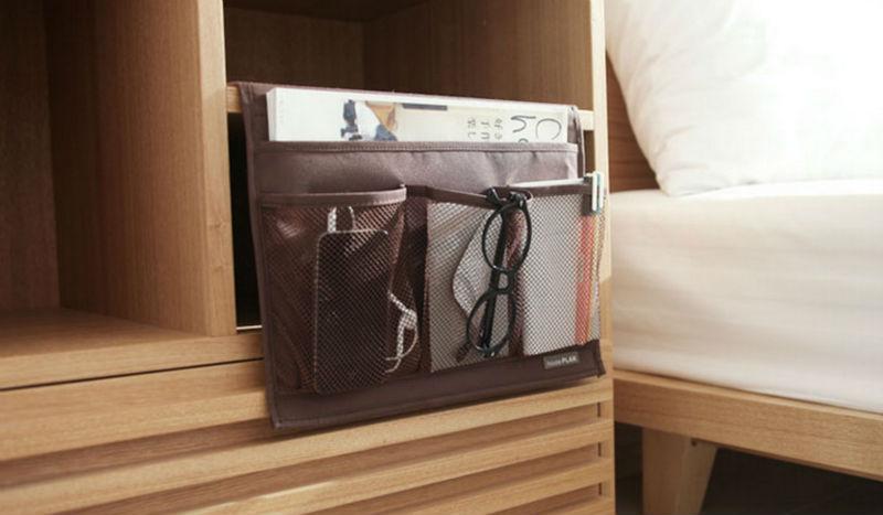 Zuhause Krankenbett Tasche Bett Veranstalter Hangen Tasche