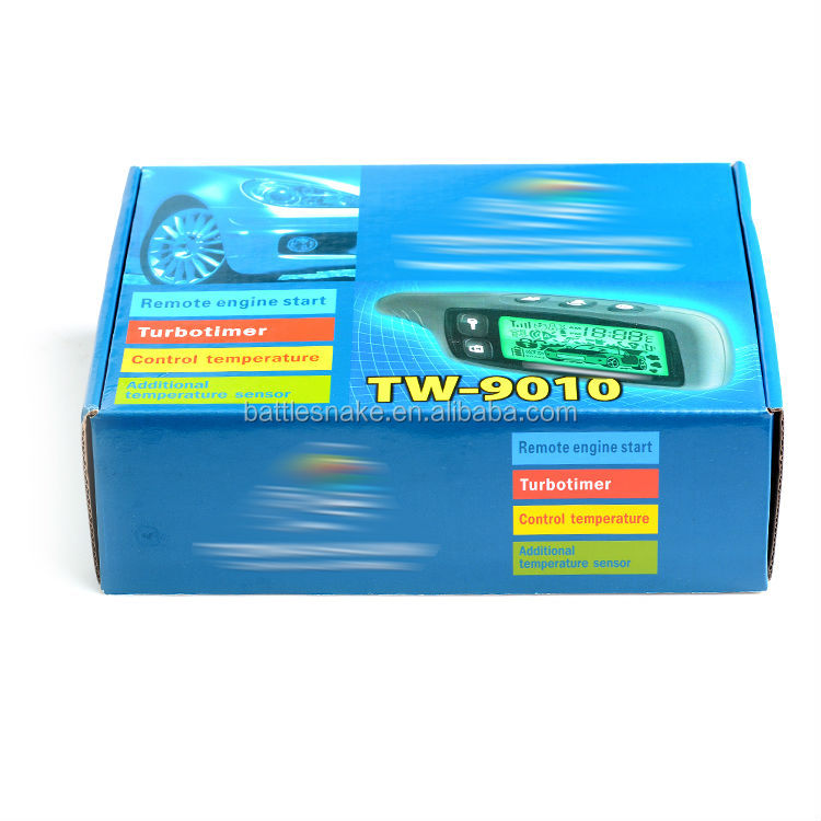 Russian version Two way car alarm TW9010