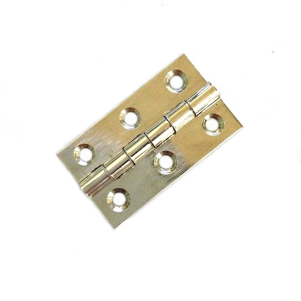 Wooden Boxes Brass Fixed Pin Small Hinge Brass Round