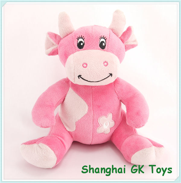 Pink Cow Toy Plush Pink Cow Buy Plush Pink Cow Pink Cow Toy Pink