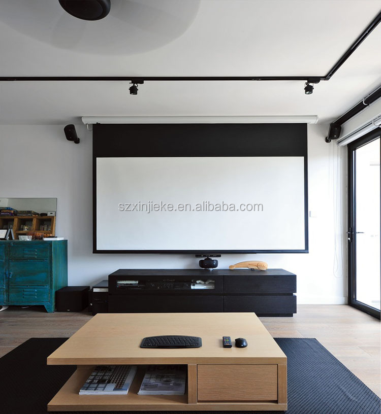 High Definition Motorized Electric 120 Inch Projector