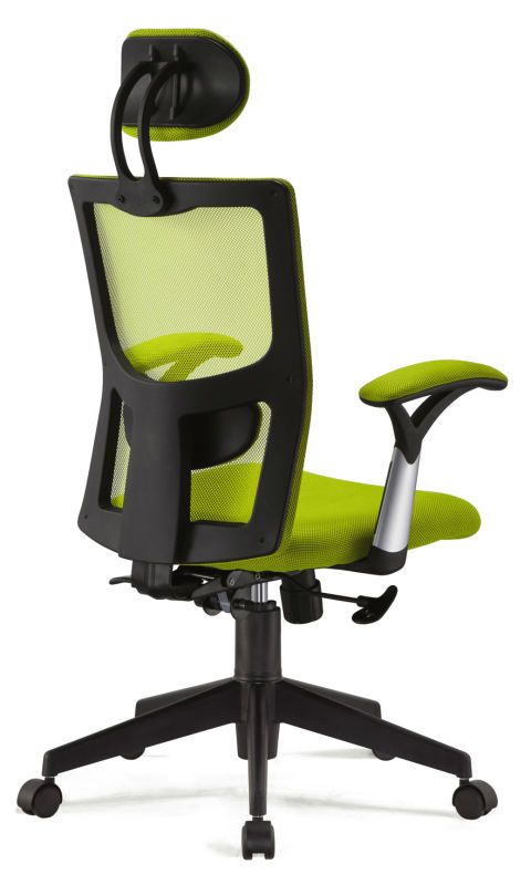 New Design High Back Mesh Office Chair With Armrest Lumbar Support ...