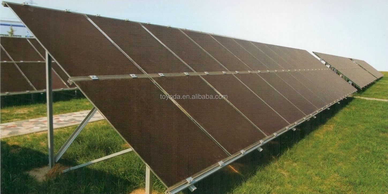 Cellule Photovoltaïque En Silicium Amorphe dedans 95 w silicium amorphe panneau solaire / film mince panneau pv - buy